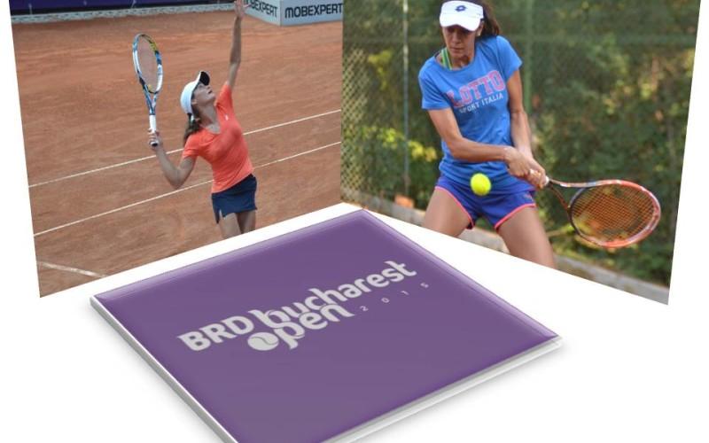Andreea Mitu și Monica Niculescu, în optimi de finală la BRD Bucharest Open 2015