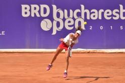 Monica Niculescu s-a bătut singură în semifinala cu Errani de la BRD Bucharest Open