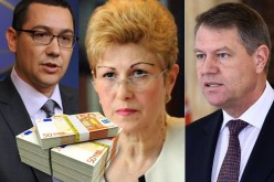 Guvernul a triplat salariile lui Klaus Iohannis, Victor Ponta și Liviei Stanciu