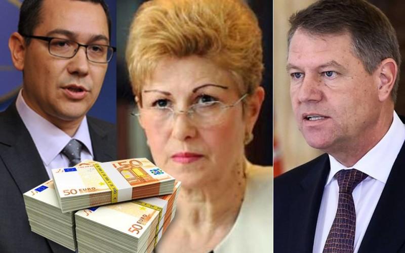 Scandal între Ponta și Oprea din cauza ordonanțe de majorare a salariilor demnitarilor