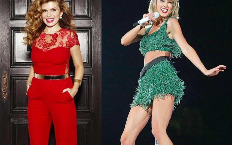 Taylor Swift apare pe scenă doar în ținutele create de româca Lorena Sârbu