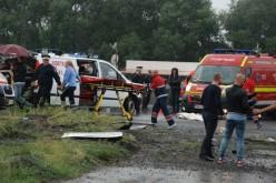 Trei persoane au ajuns la spitalul din Deva din cauza unui accident rutier produs de o albină