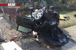 Accident terifiant la Ardud. Șase tineri au murit pe loc după ce mașina în care se aflau s-a făcut zob – VIDEO