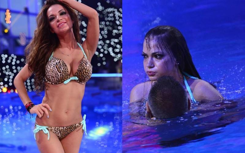 """Andreea Antonescu era să se înece la antrenamentele pentru """"Splash! Vedete la apă"""""""