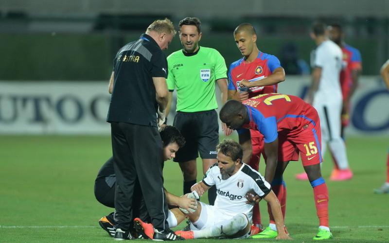 Argăseală cere demisia lui Colţescu după ce arbitrul a anulat Stelei, trei goluri valabile în partida cu Astra