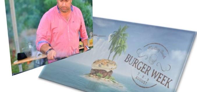 Chef Cătălin Scărlătescu organizează pe plajă, festivalul Burger Week