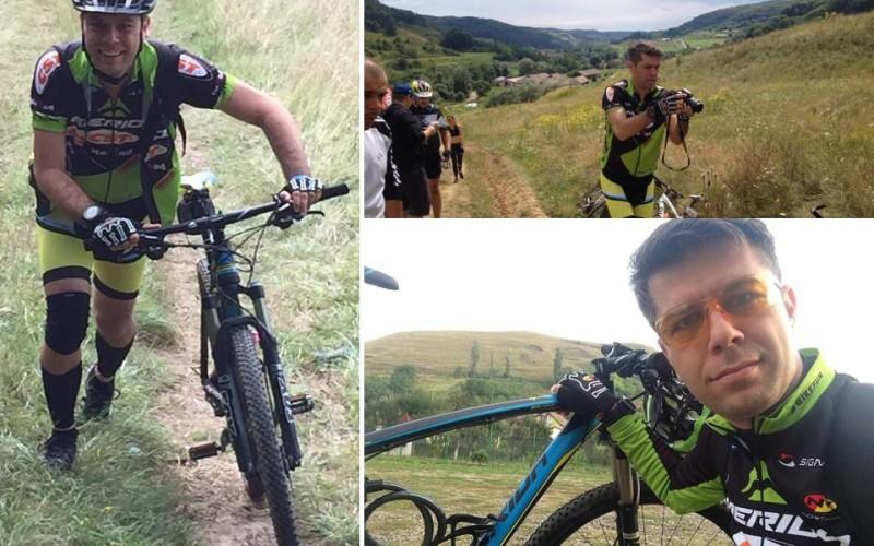 Daniel Osmanovici vede România de pe bicicletă