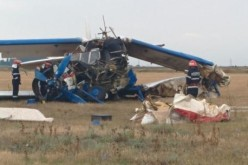 Avion utilitar prăbuşit în apropiere de localitatea Stăncuţa, județul Brăila. Pilotul a decedat