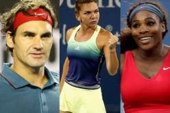Simona Halep, ridicată în slăvi de Roger Federer și Serena Williams