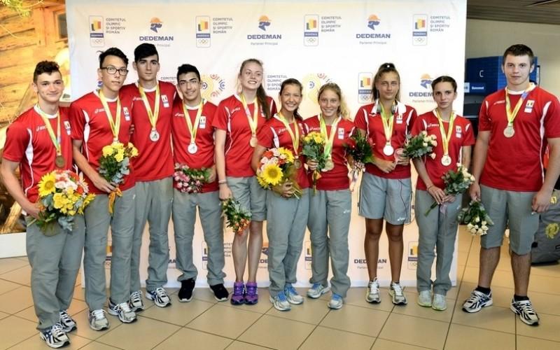 România a cucerit zece medalii la Festivalul Olimpic al Tineretului European din Georgia