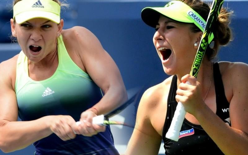 Belinda Bencic a bătut-o în semifinale la Toronto pe Serena Williams și joacă finala cu Halep