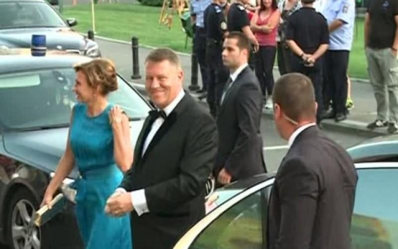 Klaus Iohannis, huiduit de români la deschiderea Festivalului Enescu