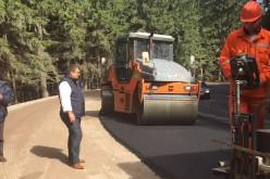 Ministrul Transporturilor, Iulian Matache, în inspecție la șantierele din județele Brașov, Harghita și Vrancea