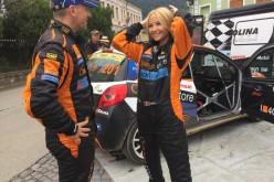Octavia Geamănu a devenit pilot de raliu la Sibiu