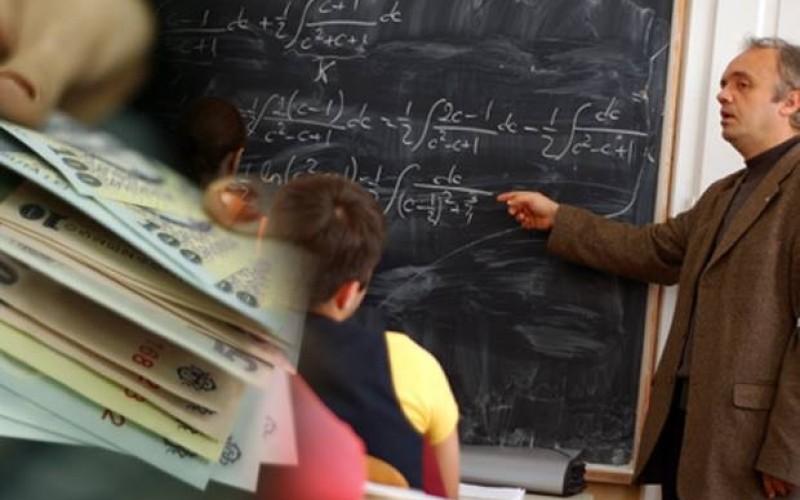 Sindicatele din Educație vor și ele majorări salariale de 25% la fel ca la medici