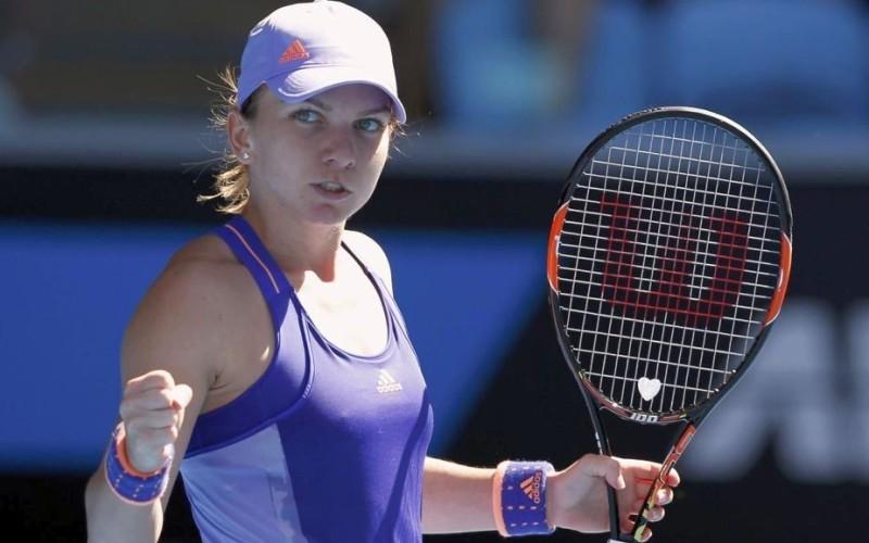 Simona Halep a învins-o pe Andrea Petkovic și s-a calificat în sferturi la Cincinnati
