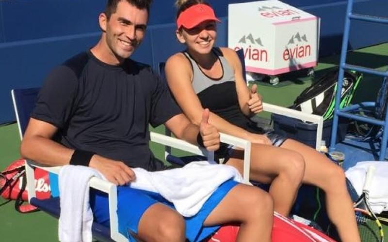 Horia Tecău și Simona Halep s-au calificat în sferturi la dublu mixt la US Open
