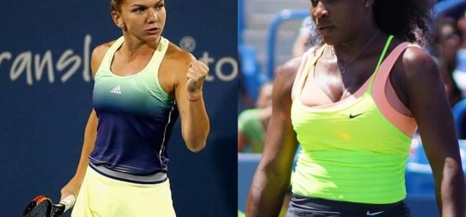 Simona Halep va juca finala de la Cincinnati cu Serena Williams