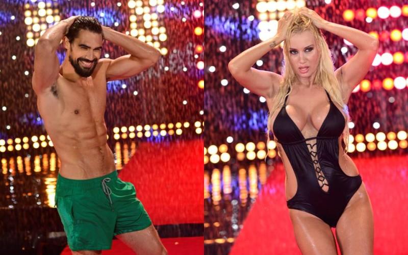 Simona Trașcă și Andrei Andrei s-au cuplat la Splash