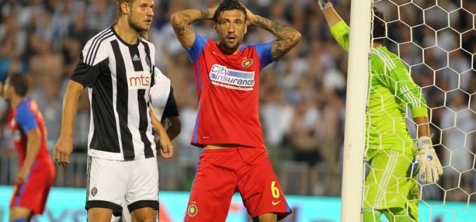 Steaua, umilită de Rosenborg în Europa League. Scaunul lui Mirel Rădoi se clatină