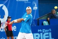 Petru Alexandru Luncanu, dublă victorie la Sibiu Open. E în sferturi de finală și la simplu și la dublu