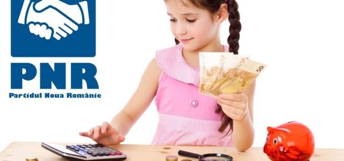 ASTA DA VESTE   10.000 de euro pentru fiecare copil născut în România