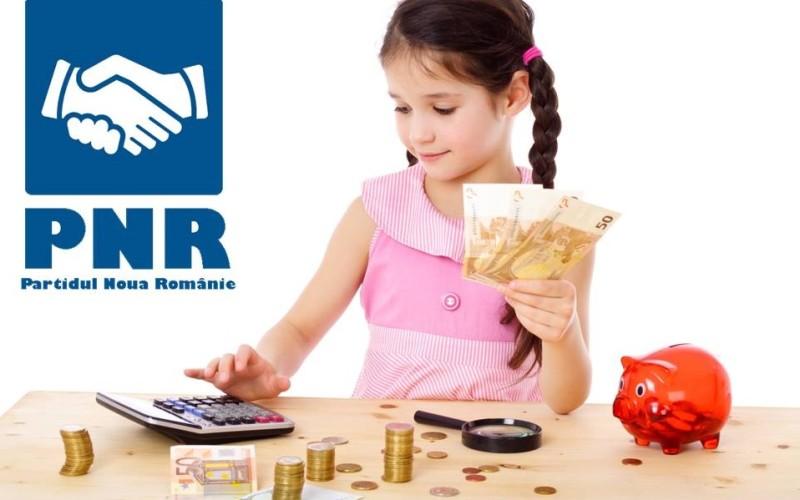 ASTA DA VESTE | 10.000 de euro pentru fiecare copil născut în România