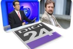 Cristian Pârvulescu, analistul de serviciu al zilei luni la Jurnalul de seară al Digi 24