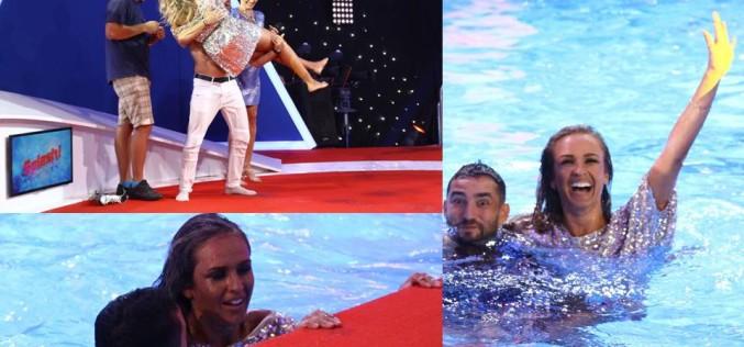 """Diana Munteanu, clipe de coșmar în finala """"Splash! Vedete la apă"""". A fost la un pas de înec"""