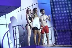 Diana Dumitrescu se tachinează cu Florin Ristei la Splash