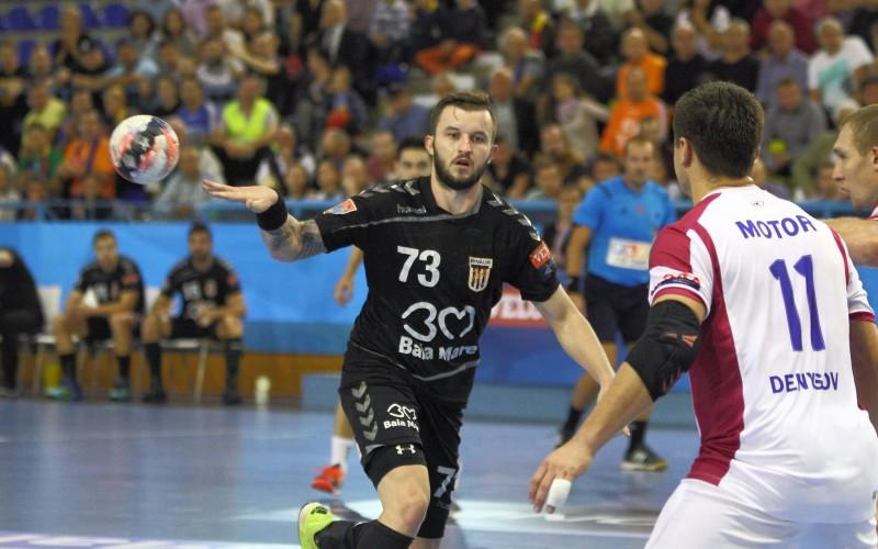 HCM Minaur Baia Mare, prima victorie în Liga Campionilor. A învins pe Motor Zaporoje