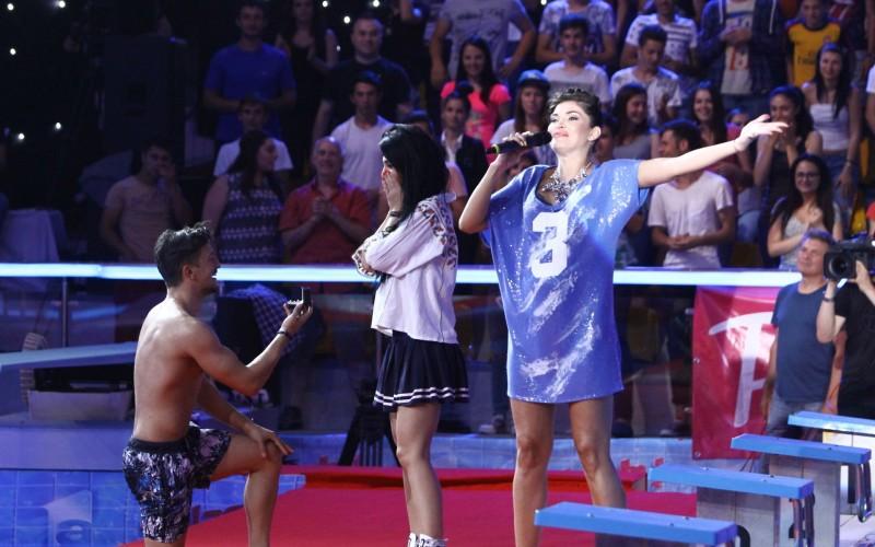 """Florin Neby își cere iubita în căsătorie, în Marea Finală """"Splash! Vedete la apă"""""""