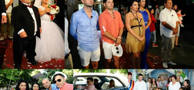 Andreea Mantea, Daniela Crudu, Andrei Ștefănescu și Liviu Vârciu pun la cale nunta unor pitici
