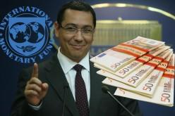 Deși România nu are nevoie, Guvernul Ponta vrea să împrumute din nou bani de la FMI