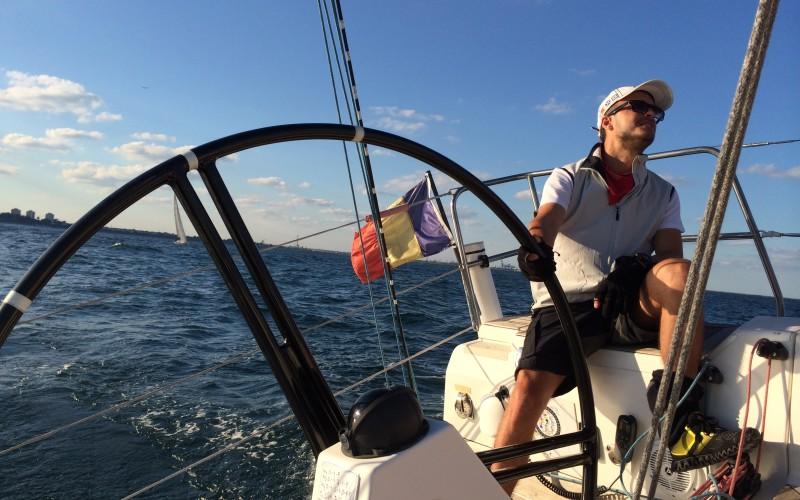 Șerban Copoț este campion național la yachting