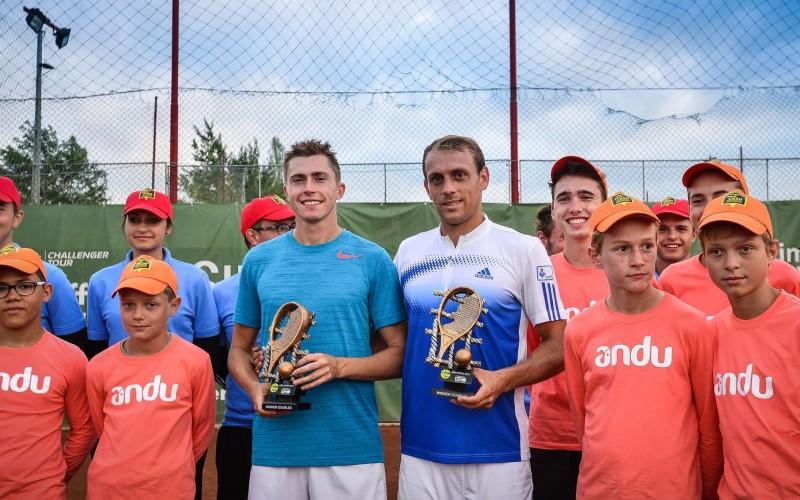 Victor Crivoi și Alexandru Petru Luncanu, victorie uriașă la Sibiu. Au câștigat turneul de dublu
