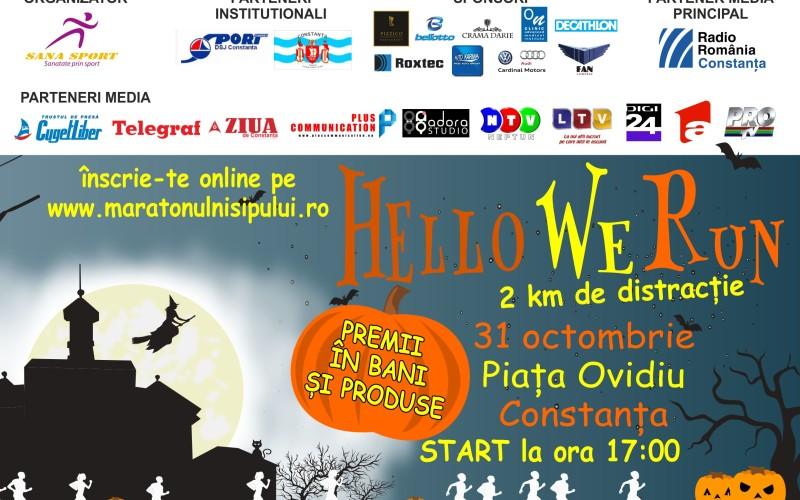 Cros inedit de Halloween în orașul Constanța
