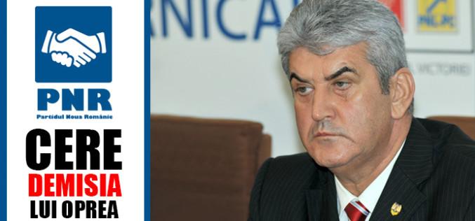 PNR cere demisia lui Gabriel Oprea. Vicepremierul e acuzat că a provocat moartea unui polițist