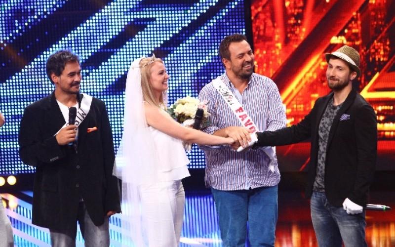 Nuntă la X Factor: Dani Oțil se însoară, iar Brenciu oficiază cununia