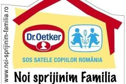 Bucuriile copilăriei, păstrate de Dr.Oetker împreună cu organizația SOS Satele Copiilor România