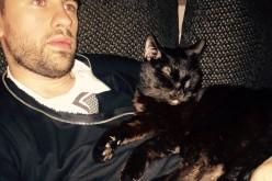 Ca să nu mai fie singur în casă, Florin Ristei a adoptat o pisică