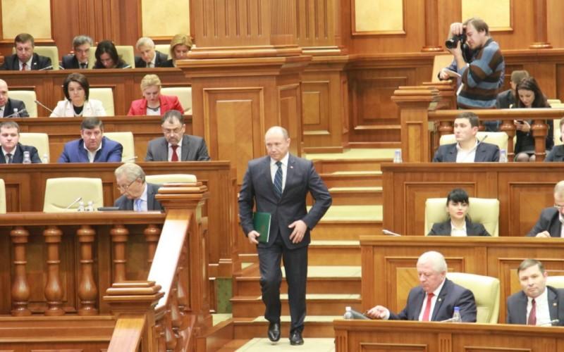 Parlamentul Republicii Moldova a demis Guvernul condus de Valeriu Streleț