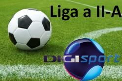 Liga a II-a la fotbal se vede în direct la Digi Sport
