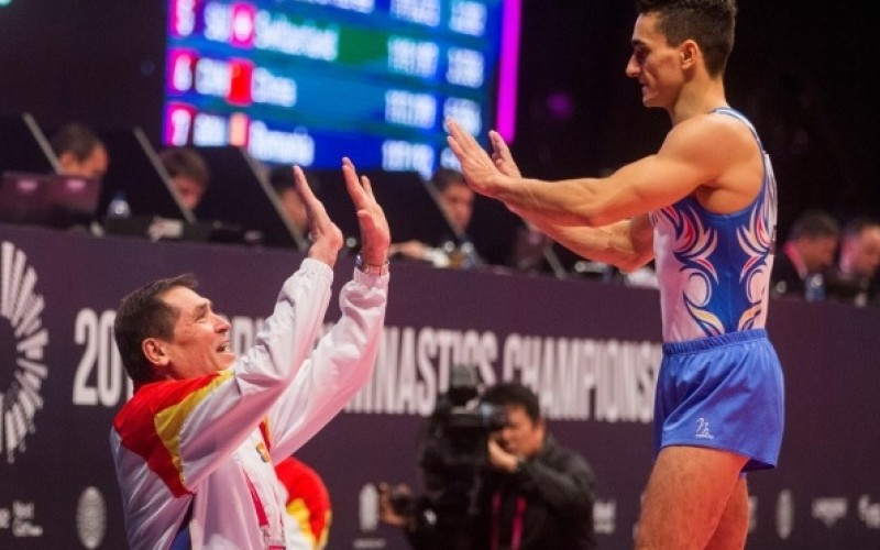 Marian Drăgulescu, calificat în finala mondială la sărituri, după trei ani de pauză