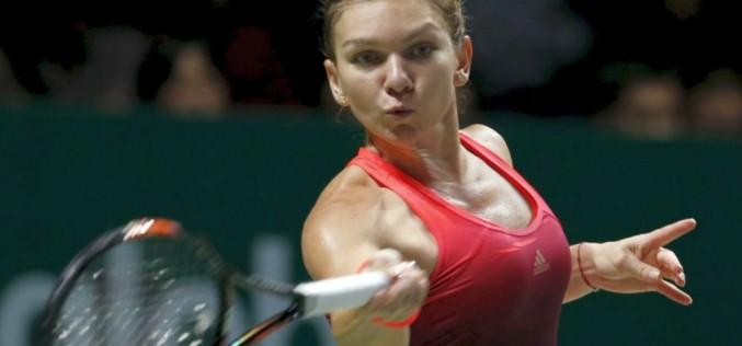 Simona Halep, umilită de Maria Sharapova la Turneul Campioanelor