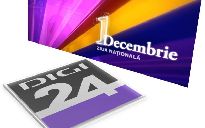Triumful unei Națiuni se vede pe 1 Decembrie la Digi 24