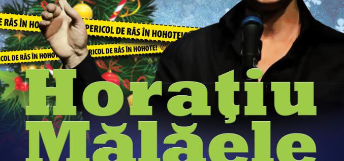 Pericol de râs în hohote cu HORAȚIU MĂLĂELE la Cinema SCALA