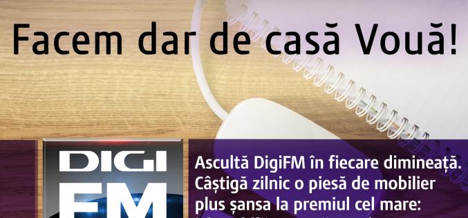 """Digi FM lansează campania de sărbători """"Dar de casă vouă"""""""