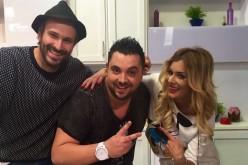 """Mihalis Dumitrache și Ionuț Galani se întrec în preparate grecești la """"Star Chef"""""""