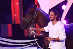 """Denis Ștefan vine cu Ardo, calul lui, la """"Ham talent"""""""